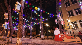 Christmas lights from SOCAR