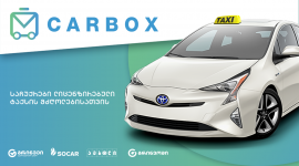 CarBox - Collection of gifts for licensed taxi drivers