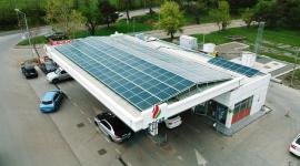 სოკარი მზის ენერგიით ავტოგასამართ სადგურებს ამარაგებს